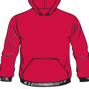 Pullover Hooded Sweatshirt - 005